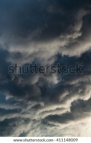 Dramatic sky background