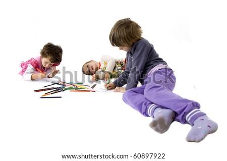 Draw - stock photo