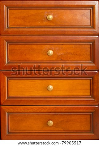drawer background - stock photo