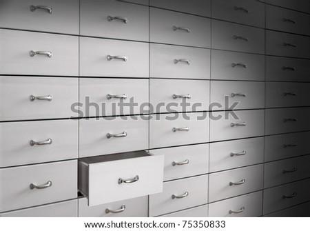 Drawers - stock photo