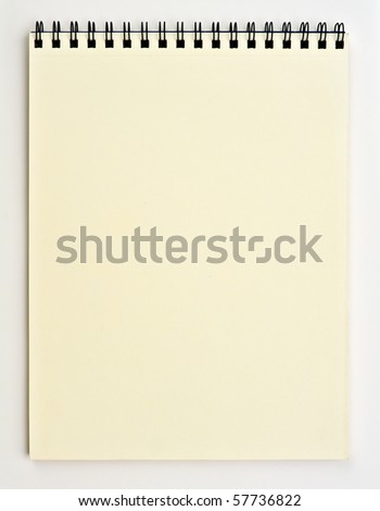 drawing book background - stock photo