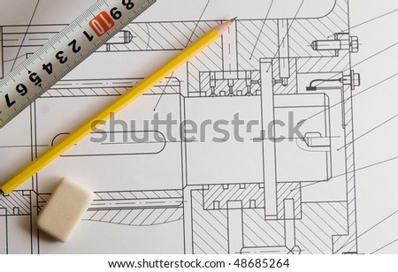 drawing design - stock photo