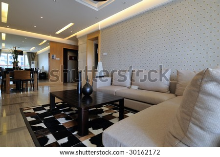 drawing room - stock photo