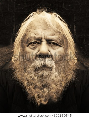Old Man Long Beard Stock Images, Royalty-Free Images ...Old Man Face Beard