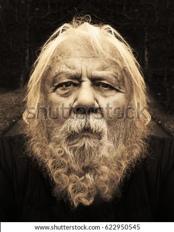 Old Man Long Beard Stock Images, Royalty-Free Images ...Old Man Face Beard