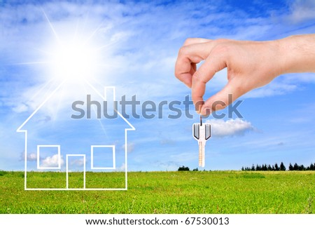 Dream house - stock photo