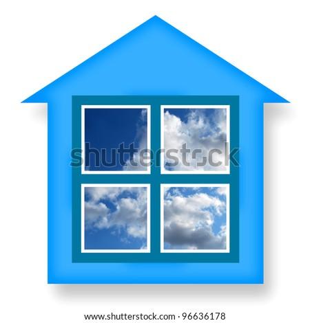 Dream House - stock photo