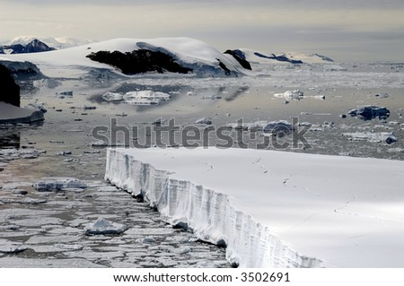 Dream in ice - stock photo