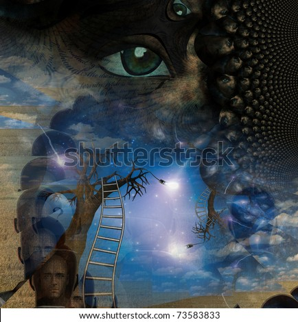 Dream Like Composition - stock photo