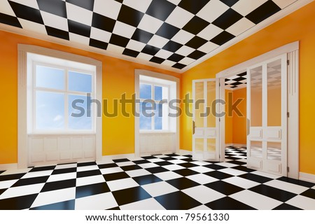 dream room concept - stock photo