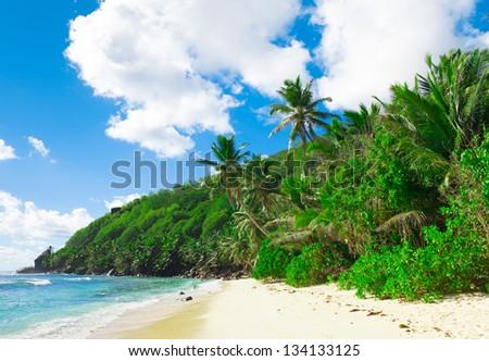 Dream Shore Summertime - stock photo