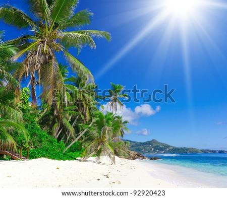 Dream Summertime Daylight Heat - stock photo