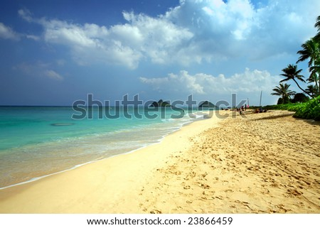Dream vacation - stock photo