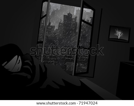 Dreaming Child - stock photo