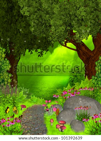 dreamland - stock photo