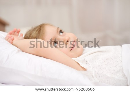 Dreams before a dream - stock photo