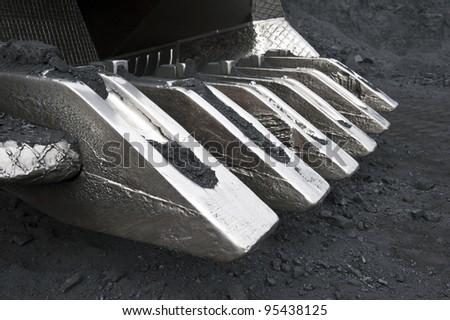 Dredge ladle - stock photo