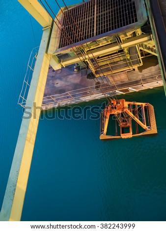 Dredger bucket  - stock photo