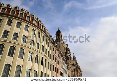 Dresden Frauenkirche ( literally Church of Our Lady) is a Lutheran church in Dresden, Germany