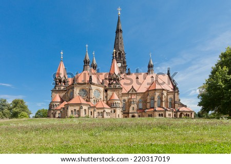 Dresden - Germany - Garnisonskirche - stock photo