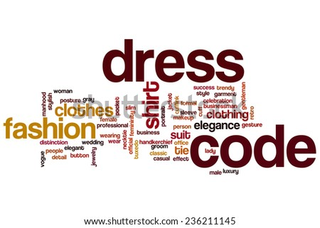 Dress Code Stock Images Royalty Free Images Vectors Shutterstock