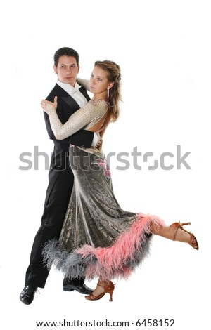 dress dance elegance posing love dancing couple