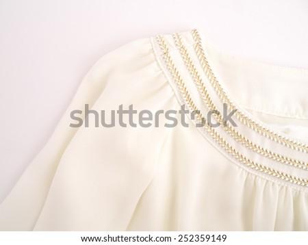 Dress fabric - stock photo