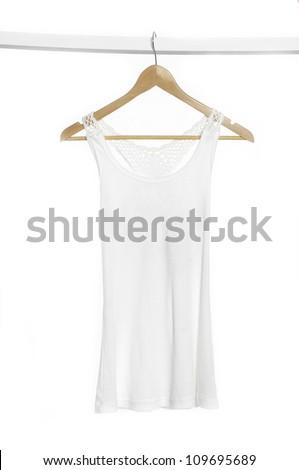 dress white - stock photo