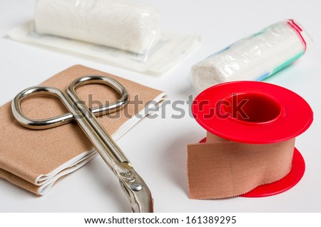 Dressing material - stock photo