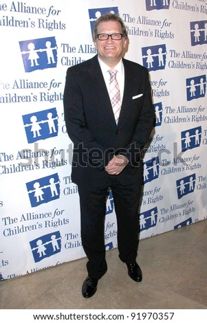 Drew Carey at the 18th Annual Alliance for Children's Rights Dinner Gala, Beverly Hilton Hotel, Beverly Hills, CA. 03-10-11 - stock photo