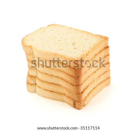 Dried bread slices