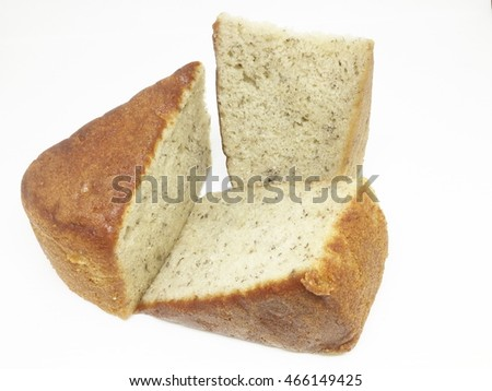 dried cake, sliced cake