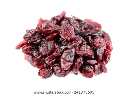 Dried cranberry - stock photo