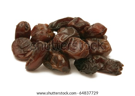 Dried dates - stock photo
