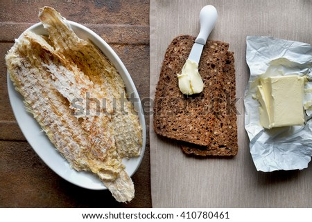 Dried fish.(Hardfiskur) Iceland.