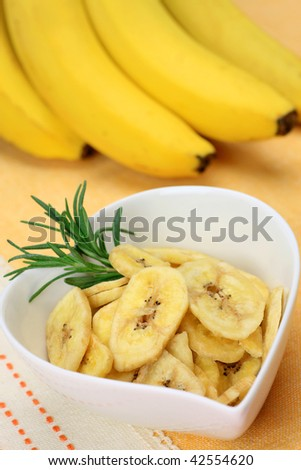 dried fruit (banana)