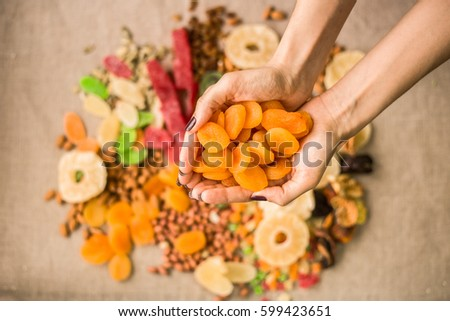 fruit turkey dried fruit and nuts healthy