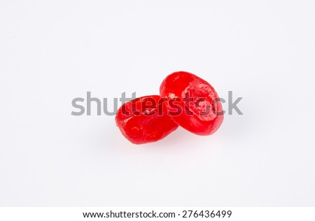 Dried fruits on the background - stock photo