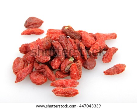 Dried goji berries. - stock photo