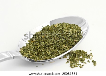 Dried Parsley - stock photo