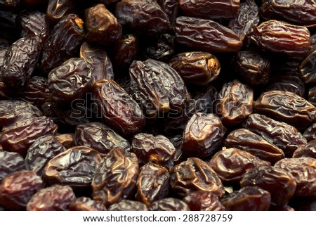 Dried plums - stock photo