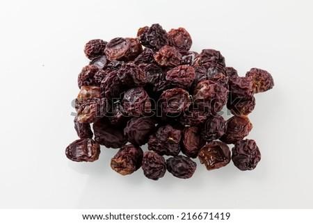 dried raisins - stock photo