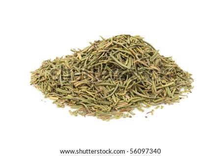 Dried Rosemary - stock photo