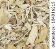 Dried salvia texture for background - stock photo