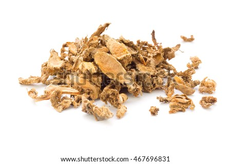 Dried Sliced Turmeric; non sharpened file
