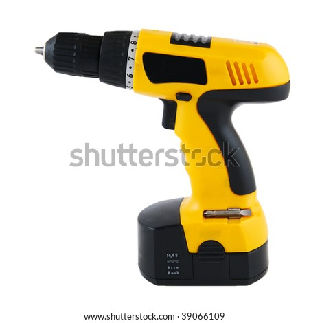Drill isolated with clipping path