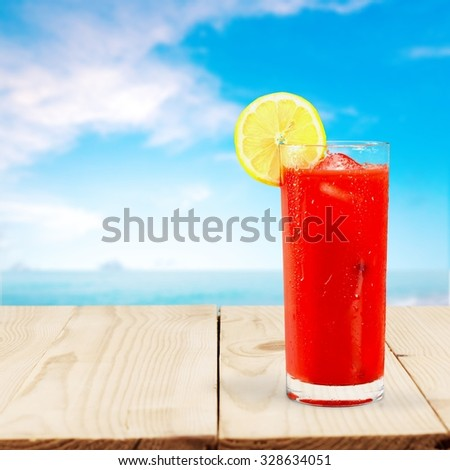 Drink. - stock photo