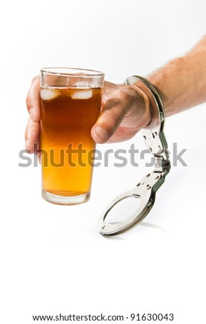 Drink and Drive - stock photo
