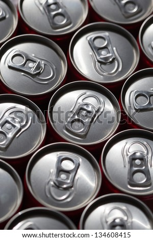 Drink cans - stock photo