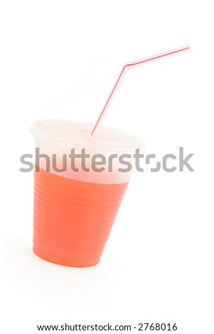 drink cup with white background